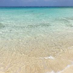 北部のビーチ