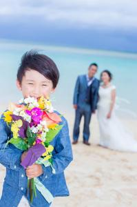 琉球hello 沖縄ファミリービーチフォト